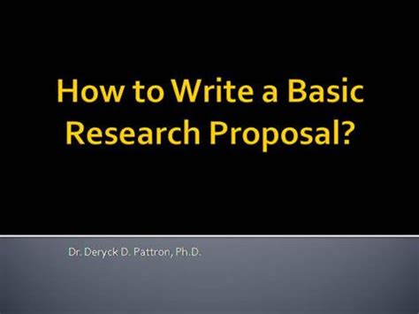 Engineering management research proposal